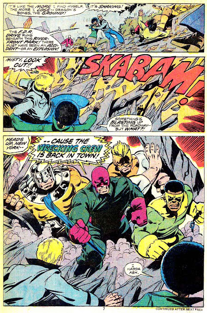 Iron Fist v1 #11 marvel bronze age comic book page art by John Byrne