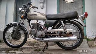 Dijual Motor JADUL Suzuki 125cc twin..Cocok Buat Custom Cafe Racer