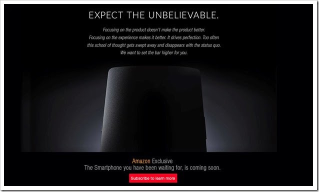 OnePlus One Amazon Exclusive
