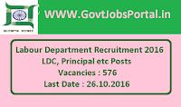 Labour Department Recruitment