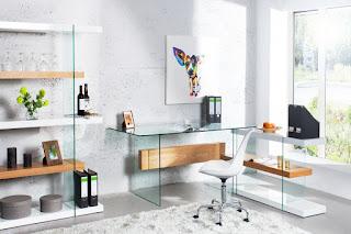 Dizajnový písací stol Reaction