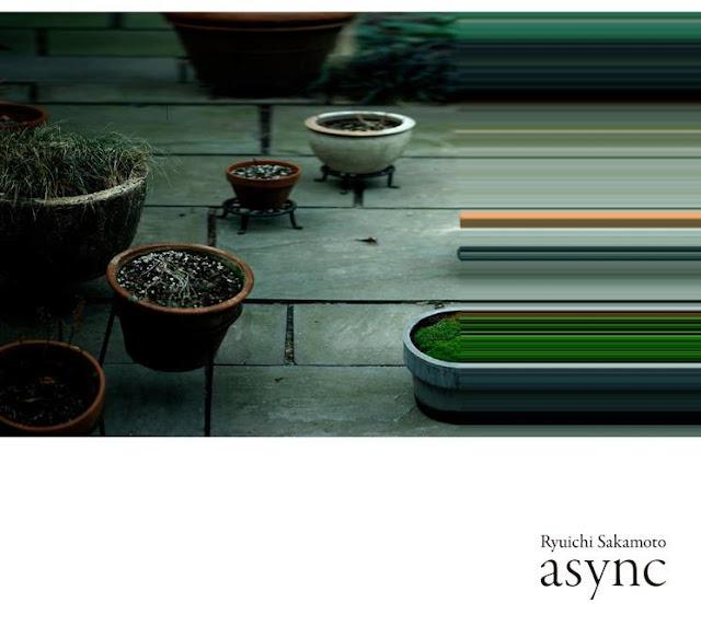 "Ryuichi Sakamoto présente l'album ""Async"" Cover Artwork"