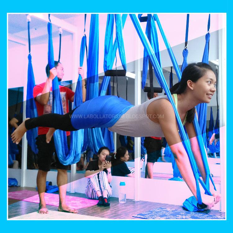 Gaya Hidup Sehat dengan Aerial Yoga