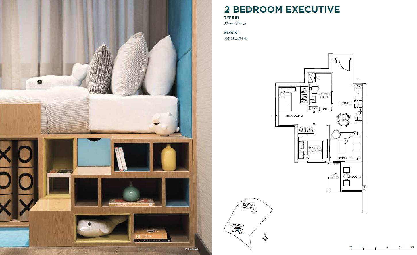 Gem Residences 2 bedroom executive