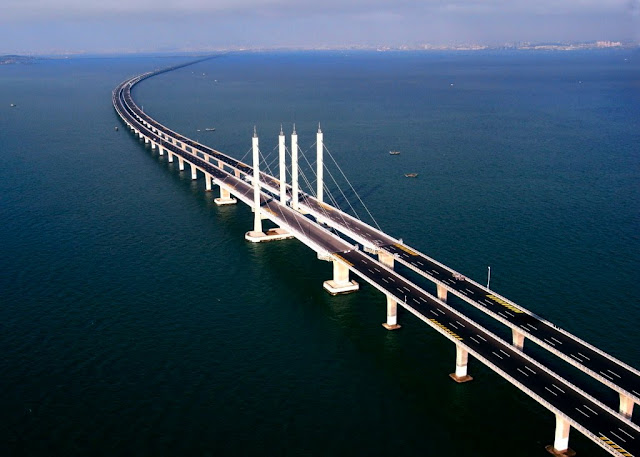 Tianjin Grand Bridge-jembatan terpanjang didunia