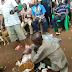 Pics&Videos: Pastor nabbed with bag filled with female pants and bra in Auchi, Edo state