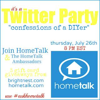 Hometalk, Twitter, Party