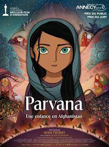 Jaquette du DVD Parvana film d'animation de Nora towney