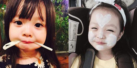 gadis imut Wajah Imut Gadis 3 Tahun Ini Memikat 200 Ribu Follower Instagram