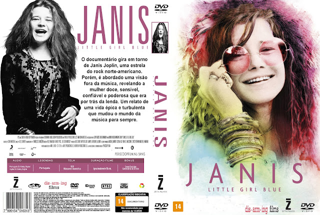 Capa DVD Janis Little Girl Blue