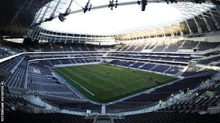 Tottenham to use new stadium  completely on April