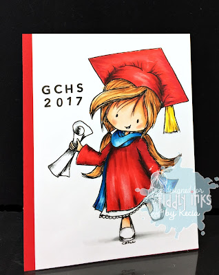 Tiddly Inks, Kecia Waters, graduation, Copic markers