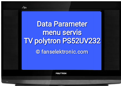 data parameter tv polytron ps52uv232