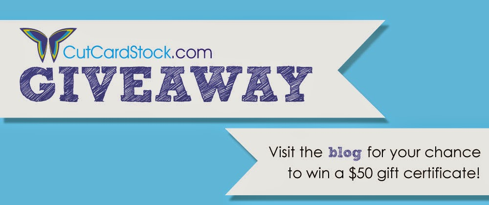Time for a Giveaway! – CutCardStock