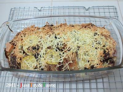 Resep Puding Roti &  Pisang