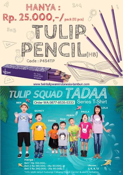 Tulip Squad TADAA, Tulip Pencil