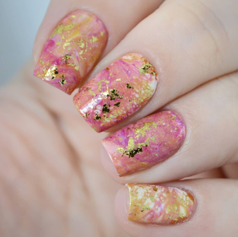 Born Pretty Store Blog: Flakies Glitter Nail Art- Bling Nail Ideas ...