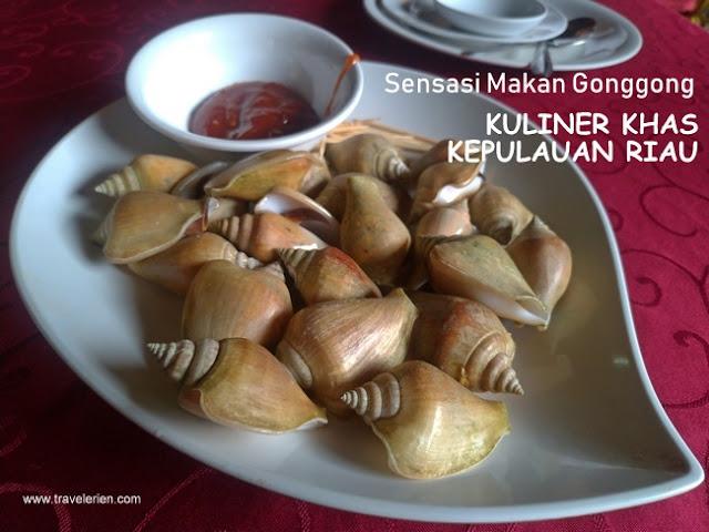 Gonggong Kuliner Khas Kepulauan Riau