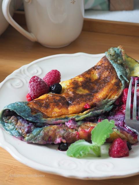 słodki-omlet-na-śniadanie