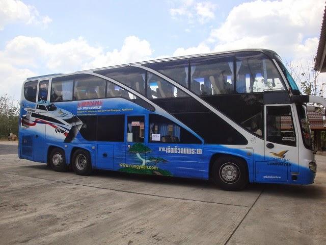 Lompryah travel Samui to Phuket