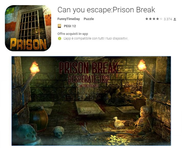Soluzioni Can You Escape Prison Break di tutti i livelli