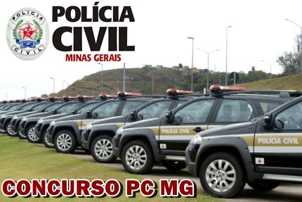PC/MG - Polícia Civil de Minas Gerais concurso