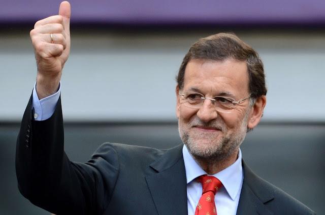 Rajoy se alegra del auje de Pablo Iglesias
