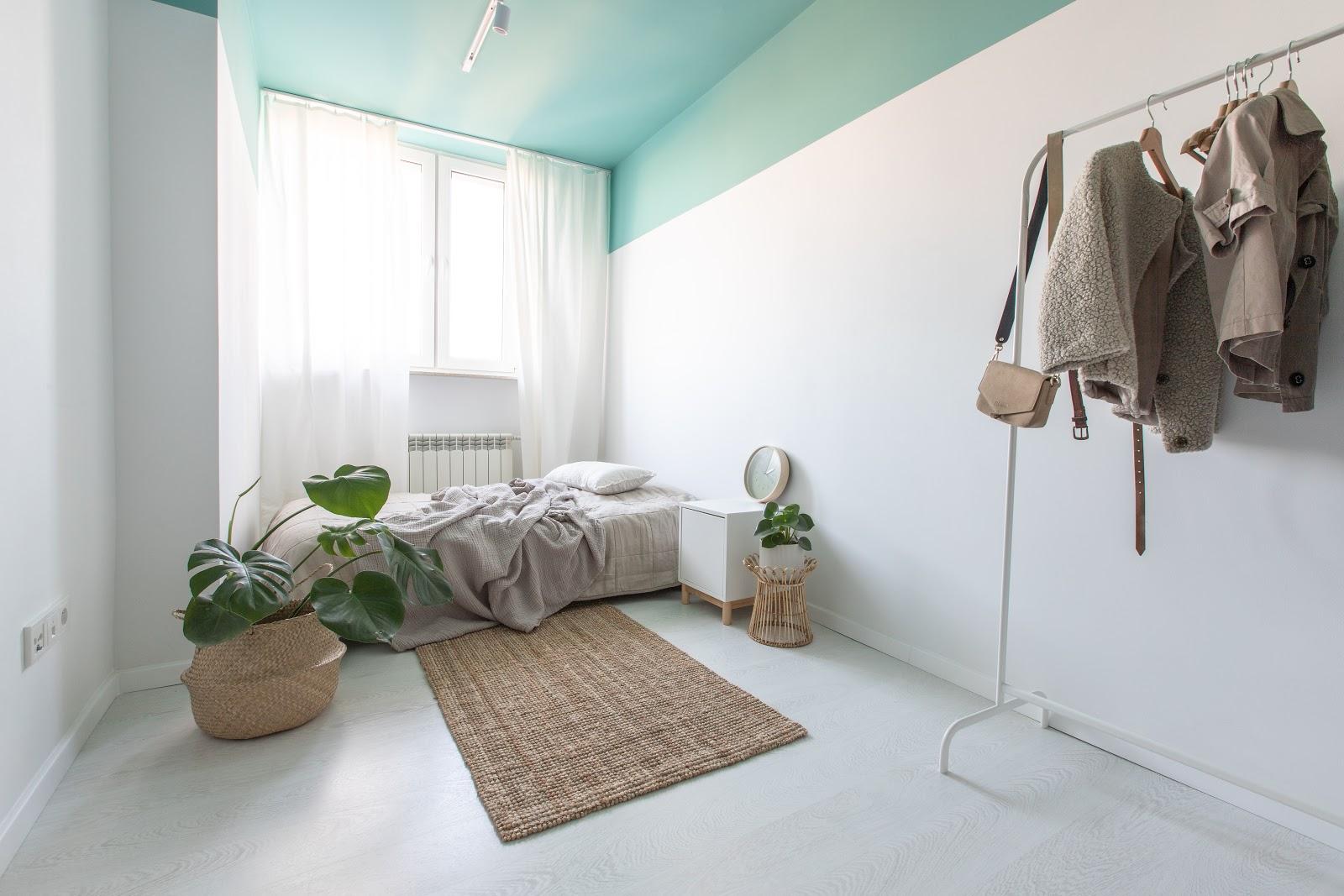 Kolorowy Sufit W Mieszkaniu Wnętrza Zewnętrza Blog