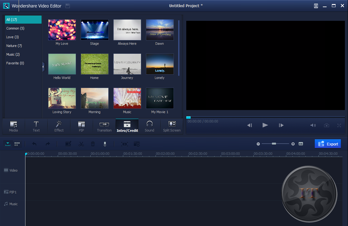 video editing software free download download wondershare