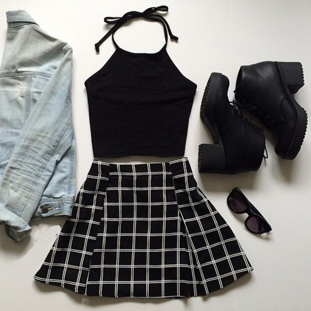 Summer Outfits For Girl To Try Skirt