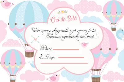 Kit Cha De Bebe 12 Convites Gratis Para Imprimir Cha De Fralda