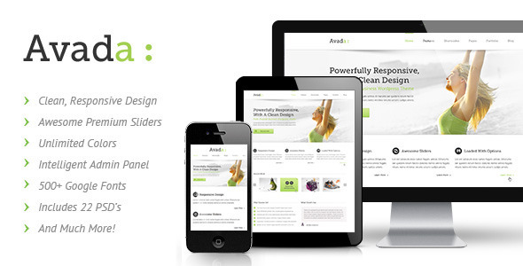 Avada Responsive Multi-Purpose WP Theme v1.0.8