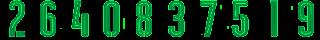 6 2Bgreen Kit Numbers Puma 2017