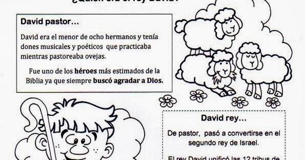 Dibujos Biblicos Para Colorear Del Rey David: La Catequesis (El Blog De Sandra): Recursos Catequesis El
