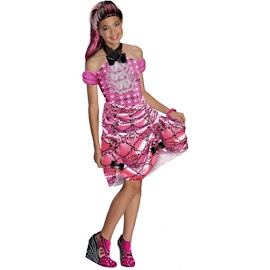 Monster High Rubie's Draculaura Outfit Child Costume