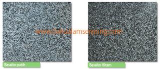 jenis andesit basalto di jakarta