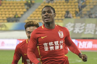 Ighalo scores for Chinese club