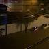 Chuva causa estragos no interior da BA; água chegou na altura das janelas dos carros em Jacobina