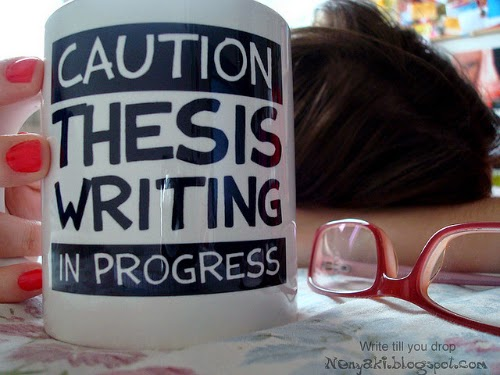 Who to write a phd thesis