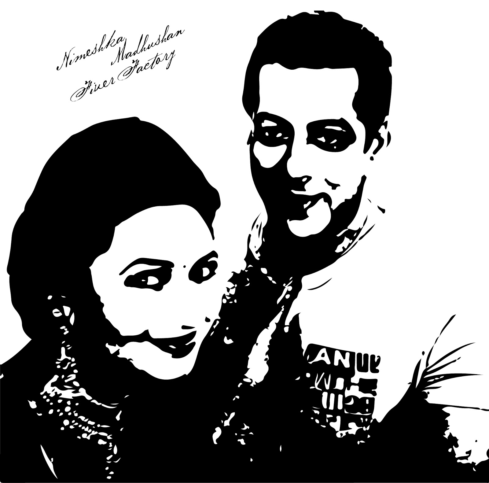 shahrukh khan coloring pages | Divyanka Tripathi and Salman Khan Selfie Vector Image ...