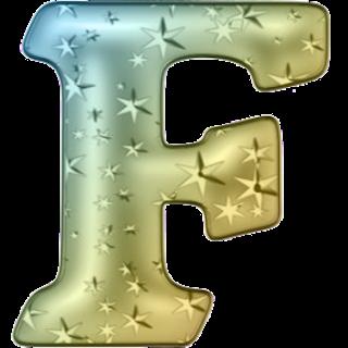 Alfabeto de Colores con Estrellas. Colored Alphabet with Stars.