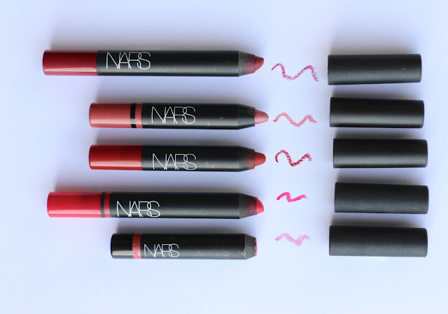 NARS LIP PENCIL COLLECTION SHADES