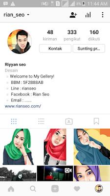 Cara auto follow instagram orang lain dengan mudah