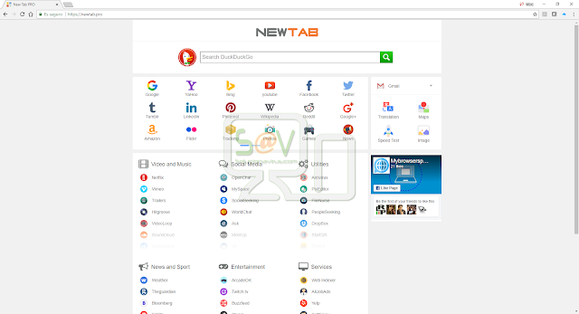 NewTab.pro (Hijacker)