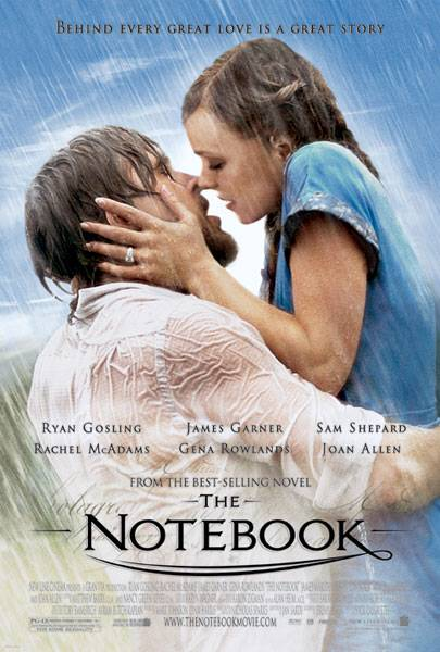 Poster of The Notebook 2004 Dual Audio 720p BluRay x264 ESubs Download