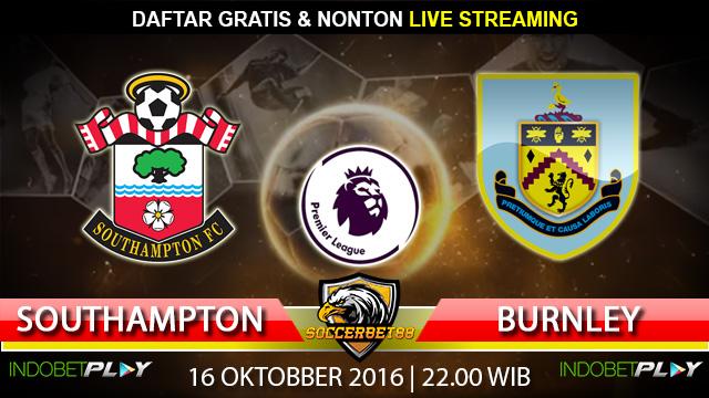 Prediksi Southampton vs Burnley 16 Oktober 2016 (Liga Inggris)