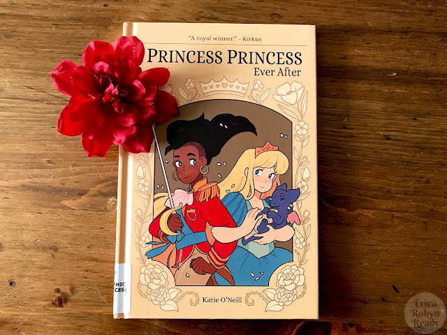 Graphic Novel Review of Princess Princess Ever After by Katie O'Neill