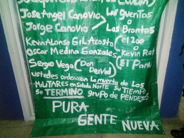 Amenazan en Narcomanta a hijos del Chapo Guzmán y otros miembros del CDS