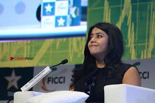 Ekta Kapoor Anurag Kashyap & Ramesh SippyAt at FICCI FRAMES 2017  0115.JPG