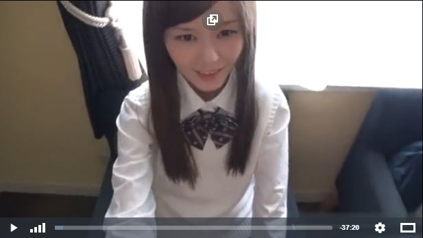 Gadis imut siswa SMA Jepang Di Enjot